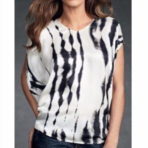 CAbi Style #137 Silk Tye Dye Tunic Hi/Lo